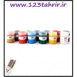 گواش 12 رنگ پارس
