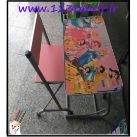 میز و صندلی تحریر فانتزی سبک..