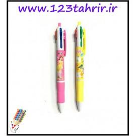 خودکار 4 رنگ فشاری دیزنی