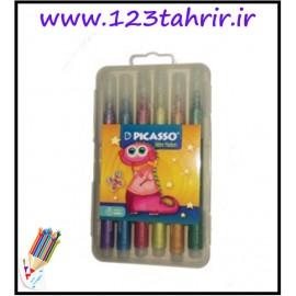 ماژیک 6 رنگ اکلیلی پیکاسو