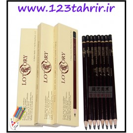 مداد طراحی B10 لاتاری