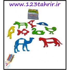 کلبه حیوانات با آموزش محیط و مساحت..