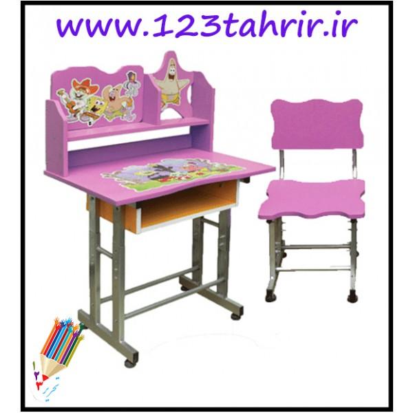 میز و صندلی کودک فلزی